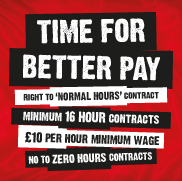Time For Better Pay Campaign