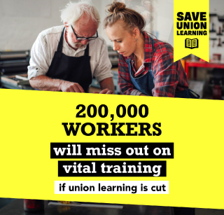 Cuts to union learning